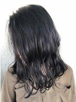 テラスヘア(TERRACE hair)バイオレットアッシュ×ウェットウェーブ