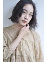ボヌール 西梅田店(Bonheur)【女性stylist杉崎】色っぽウェ~ブボブ