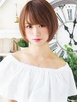 【ジュレベール 松田】 ナチュラルフェミニン☆小顔ショートボブ