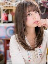 シースルー前髪☆ワンカ-ルロングレイヤーb上尾20代30代40代!