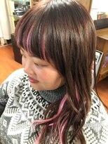 #Jewel&Barbie 前髪インナーカラー