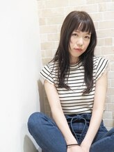 ヘアーメイク プティ(hair make Petite)大人かわいいラベンダーモーブカラー☆2017武蔵小山・プティ