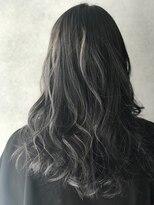 ヘアサロンエム フィス 池袋(HAIR SALON M Fe's)アッシュグレーハイライト 【担当.羽富】
