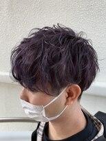【Ame briller】☆スパイラルパーマ風・ヴァイオレットカラー☆