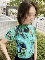 モッズヘア 仙台PARCO店(mod's hair)【遠藤】丸顔矯正×ハイライト履歴×ファッション似合わせ