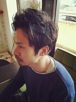 アンスール(Une seule)の写真/男性に大切な第一印象を決めるヘアスタイル。抜群のカット技術で好感度上がるメンズヘアなら迷わずココ♪