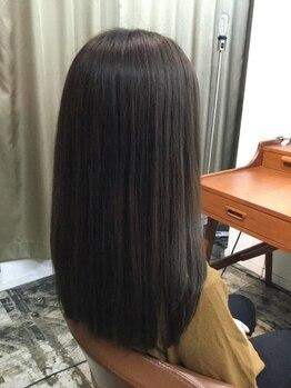 ハコネコ(haconeco)の写真/【フローディアTR】最新技術でダメージ部のみを選択的に徹底補修☆スパとの組合せで傷みに負けない艶髪へ―