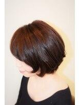 ヘアメイク スコア(Hair Make S CORE)大人ボブ ピンク系カラー【Hair Make S-CORE】 053-445-2100