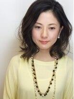 ヘアメイクエシェル 小松店(Hair Make e‐shell)大人ミディアム