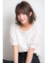 ジュイル シブヤ(JEWIL SHIBUYA)『Noz渋谷 中島』ライトブルージュの小顔に見える似合わせボブ♪