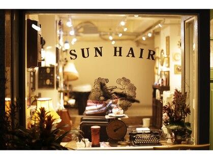 サンヘアーブリッツ(sun hair BRITS)の写真