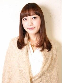 エイブルの写真/敏感肌の方にも優しいオーガニックカラーで髪色チェンジ☆