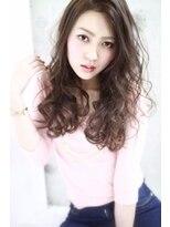 ルノン フィージュ(LUNON fieju)【LUNON fieju】☆フレンチカラー×ルーズウェーブロング☆