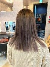 ブレイブ ヘアデザイン(BRaeVE hair design)white lavender♪