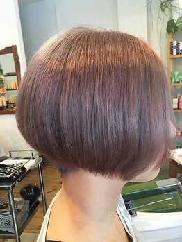 ムク(MUKU)の写真/【リピーター多数★】小顔効果も高い×貴女に似合うヘアを作るカットで『誰からも愛される好印象ヘア』☆