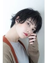 ブルー スタイル 大森店(BLUE STYLE)暗髪ニュアンスショート