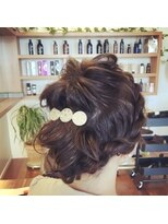 レガロヘア(REGALO -hair-)結婚式お呼ばれヘア