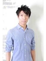 銀座マツナガ 箱崎店(GINZA MATSUNAGA)【マツナガ箱崎】 爽やか トップふんわりマッシュ