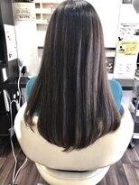 ヴィオレッタ ヘアアンドスペース(VIOLETTA hair&space)髪質改善トリートメント×白髪染め×ツヤロング