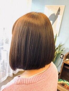 クオン(Quon)の写真/髪質改善!ボンドビタトリートメント★季節や年齢によって変化する髪をしなやかな状態に♪