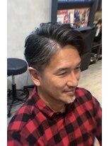アフロート ショウナン(AFLOAT SHONAN)【大人男性】西洋風かき上げヘア