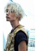 ジオラマ ヘアメイク(DIORAMA Hair Make)【DIORAMA】センターパート/ホワイトカラー