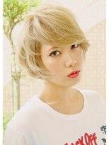 スパイキーショート【Lucia hair clear新大阪店】