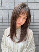デイズ(DAYS / 92co.)*【DAYS】抜け感カラー×ミルクティーグレージュ*