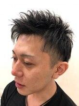 グラッド ヘアーアンドエステ(GLAD hair&esthe)ザクッとした毛束感で男らしさのあるメンズショート