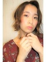 ヘアーアンドネイルアンカーバイラフ(Hair & Nail anchor by Laf)切りっぱなし×くせ毛風ボブ☆