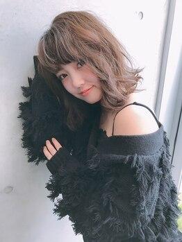 ドレス(Dress)の写真/【桑名市/桑名駅近】骨格に合わせた似合わせカットの高い技術で自宅でも扱いやすく再現性の高いスタイル☆