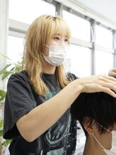 【スタッフのマスク着用】