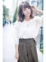ロンド フィーユ(Lond fille)【Lond fille】透明感グレージュカラーでゆるふわオシャレヘア☆