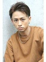 フェス カットアンドカラーズ(FESS cut&colors)【アップバング×七三】ジェントルマンスタイル『FESS 鶴丸』