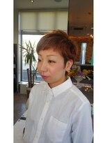 ヘアーパレス フタバ(Hair palace FUTABA)短め前髪束感ショート