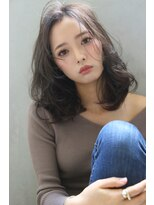 【Blanc/目黒】ことりベージュ/毛先パーマ/ミディアムkyn