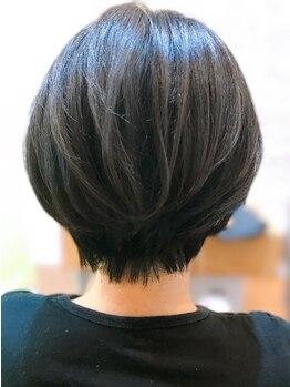 プレイフル(PLAYFUL)の写真/自宅での再現性を重視したカットで、毎日お気に入りのヘアスタイルに。サロン帰りがずっと続く!
