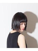ヘアーアイス(HAIR ICI)【HAIR ICI】トレンド×切りっぱなしボブ