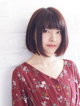 イツキ ヘアーデザイン(ITSUKI hair design)の写真/【話題の酸性ストレート取り扱いサロン】髪質改善にも◎柔らかく自然なツヤ髪でナチュラルなシルエットへ♪