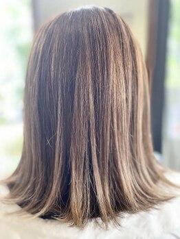 ディア(Dear)の写真/Dearこだわりのトリートメントであなたの髪の状態に合わせて髪質改善◎サラツヤな美髪を手に入れて♪