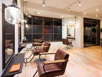 コハヘアー(COHA HAIR)の写真/スタッフ2名のプライベートサロン☆オシャレな空間で非日常な贅沢サロンTime♪大型サロンが苦手な方も◎