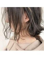 スーベニール(souvenir)■白髪対応■イヤリングハイライトカラーミルクティーグレージュ
