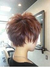 ヘアコンシェル ミューオン(Hair conciel μ+)骨格矯正ショート
