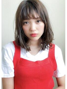 アグ ヘアー リル 志木店(Agu hair lilou)《Agu hair lilou》小顔シースルーバングゆるふわミディアム