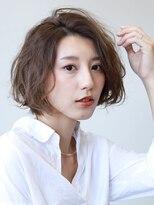 【soy-kufu】かき上げ前髪のエアリーミディナチュスタイル
