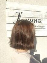 ルーナ ヘアラウンジ(Luuna hair lounge)切りっぱなしボブ