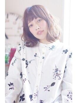 ネクス ヘアー(NEXU HAIR)の写真/可愛いが続く事で人気の≪NEXU HAIR≫のカットは伸びてもキレイなシルエットを持続します☆