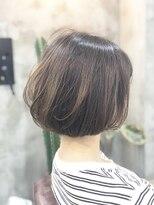 エトネ ヘアーサロン 仙台駅前(eTONe hair salon)【eTONe】25歳からオススメの大人のボブ