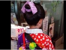エルメゾンの雰囲気(成田祗園祭の手古舞さん。来年はお祭りが出来る事を願って。)