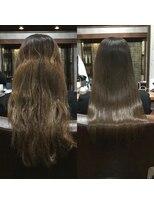 セブン ヘア ワークス(Seven Hair Works)[カラーエステ]NOストレート!NOアイロン!乾かしただけ
